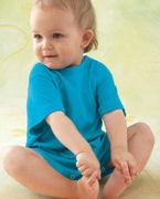Promotional Rabbit Skins Infant's 5.5 oz. T-Shirt Romper