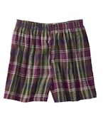 Custom Logo Robinson Unisex Plaid Flannel Short
