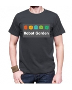 Customized Robot Garden T-shirt