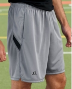 Embroidered Russell Athletic Dri-Power Colorblock Short