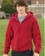 Personalized Russell Athletic Dri-Power Fleece Full-Zip Hood