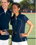 Embroidered Russell Athletic Ladies' Team Prestige Polo