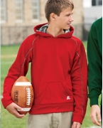 Customized Russell Athletic Youth Tech Fleece Pullover Hood