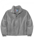 Custom Logo Sierra Pacific Adult Quarter Zip Poly Fleece Pullover