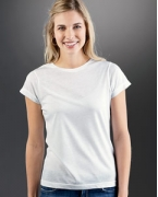 Logo Sublivie Ladies' Polyester T-Shirt