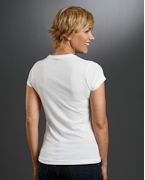 Promotional Sublivie Ladies' Polyester T-Shirt