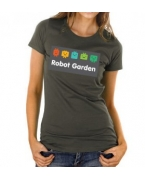 Embroidered T-Shirt - Women's with center Front Print