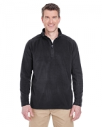 Personalized UltraClub Adult Cool & Dry 1/4-Zip Micro-Fleece