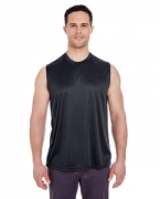 Personalized UltraClub Adult Cool & Dry Sport Performance Interlock Sleeveless Tee