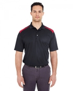 Promotional UltraClub Adult Cool & Dry 2-Tone Mesh Pique Polo