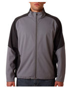 Monogrammed UltraClub Adult Soft Shell Jacket