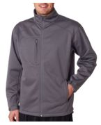 Personalized UltraClub Adult Softshell Solid Jacket