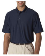 Custom Logo UltraClub Adult UltraClub Cool-N-Dry Elite Tonal Stripe Performance Polo