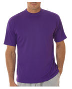 Monogrammed UltraClub Adult UltraClub Cool-N-Dry Sport Performance Interlock Tee