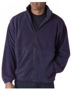 Logo UltraClub Adult UltraClub Iceberg Fleece Full-Zip Jacket