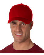 Personalized UltraClub Flexfit Pique Mesh Cool & Dry Cap