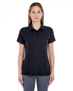 Custom Logo UltraClub Ladies' Basic Blended Pique Polo