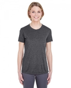 Personalized UltraClub Ladies' Cool & Dry Heather Performance Tee