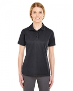 Custom Embroidered UltraClub Ladies' Cool & Dry Mesh Pique Polo
