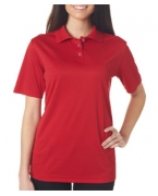 Custom Embroidered UltraClub Ladies' Cool & Dry Sport Polo