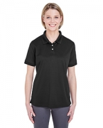 Personalized UltraClub Ladies' Platinum Performance Pique Polo with TempControl Technology