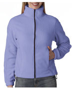 Custom Embroidered UltraClub Ladies' UltraClub Iceberg Fleece Full-Zip Jacket