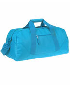 Custom Logo UltraClub Large Square Duffel Bag
