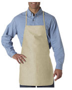 Embroidered UltraClub Large Two-Pocket Apron