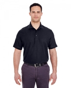 Monogrammed UltraClub Men's Basic Blended Pique Polo