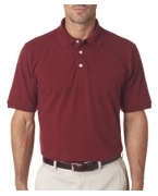 Custom Embroidered UltraClub Men's Classic Platinum Polo