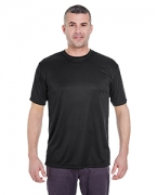 Custom Logo UltraClub Men's Cool & Dry Basic Performance Tee