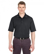 Personalized UltraClub Men's Cool & Dry Jacquard Performance Polo