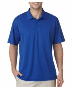 Customized UltraClub Men's Cool & Dry Mesh Piqu Polo