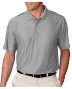 Logo UltraClub Men's Tall Cool & Dry Elite Performance Polo