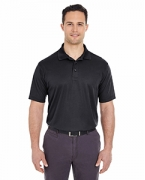 Monogrammed UltraClub Men's Tall Cool & Dry Mesh Pique Polo