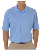 Embroidered UltraClub Men's UltraClub Cool-N-Dry Sport Performance Interlock Polo