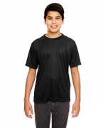Logo UltraClub Youth Cool & Dry Basic Performance Tee