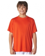 Custom Embroidered UltraClub Youth Cool & Dry Sport Performance Interlock Tee