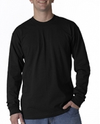 Embroidered Union Made Adult Long-Sleeve Tee