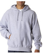 Logo Weatherproof Adult Cross Weave Hooded Sweatshirt