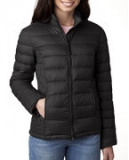 Logo Weatherproof Ladies' Packable Down Jacket