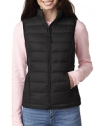 Personalized Weatherproof Ladies' Packable Down Vest