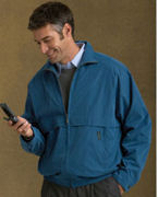 Personalized Weatherproof Microfiber Jacket