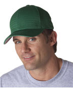 Logo Yupoong Flexfit Athletic Mesh Solid Cap