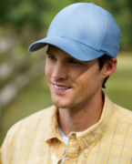 Embroidered Yupoong Flexfit Organic Brushed Twill Low-Profile Cap