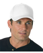 Custom Embroidered Yupoong Flexfit Poly-Twill Spandex Cap