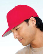 Monogrammed Yupoong Flexfit Wooly Twill Pro Baseball On-Field Shape Cap with Flat Bill