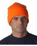 Monogrammed Yupoong Heavyweight Cuffed Knit Cap