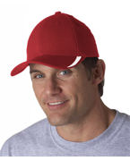 Embroidered Yupoong V-Flexfit Cap with Sweep Profile
